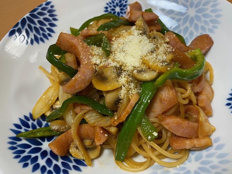 スパゲティ-ナポリタン